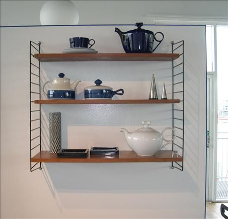 String shelves, brilliant classic that I NEED a whole wall of