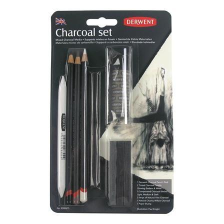 Derwent Charcoal Mixed Blister Set, $10 !!