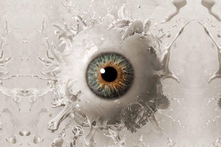 Framed Print Weird Massive White Eyeball Picture Poster Fantasy Anatomy Art Eyeball Art Eyes Wallpaper Ipad Background