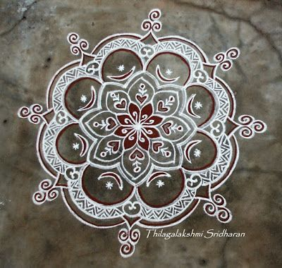 Rangoli and Art Works: Margazhi 2015 - Day 8 kolam