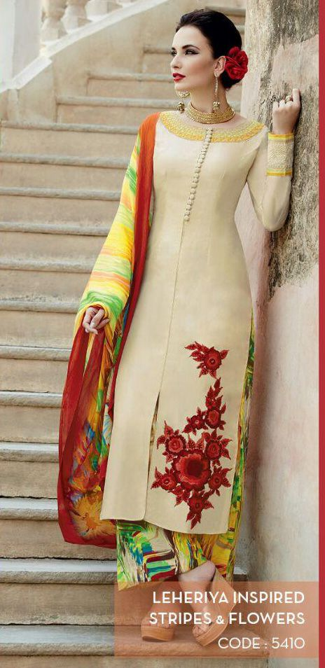 Heer Volume-5 By Kimora Hit Design Salwar Suits. Shop online @ https://www.asiancouture.co.uk/Indian-designer-brands/KIMORA-HEER-DRESSES_SUITS/Heer-DRESSES #heer #kimora #ShalwarKameez #Designer #salwarkameez #Kimora #Ethnicwear #embroidery #suit #Indian #Fashion