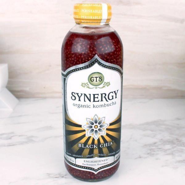 GT'S Synergy Kombucha Organic Black Chia