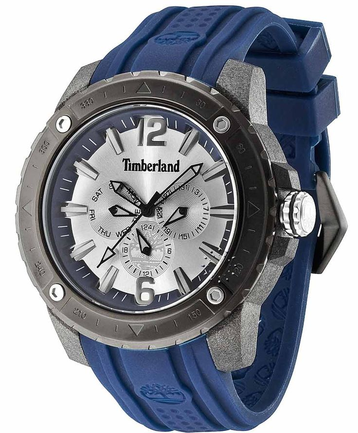 TIMBERLAND Granville Blue Rubber Strap Η τιμή μας: 143€ http://www.oroloi.gr/product_info.php?products_id=35607