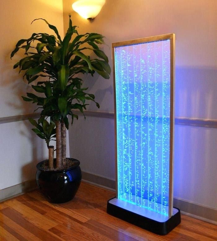 Indoor Waterfalls Propose The Complete Combination Of