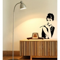 Audrey removable decal - gorgeous! $90 + minimal postage