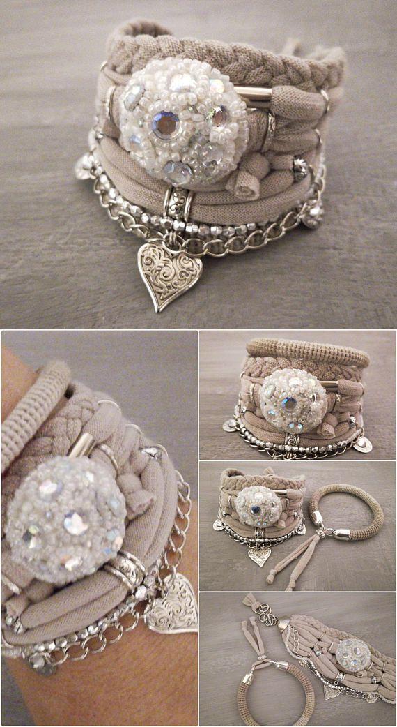 Bohemian Wedding armband Boho stijl bruiloft sieraden