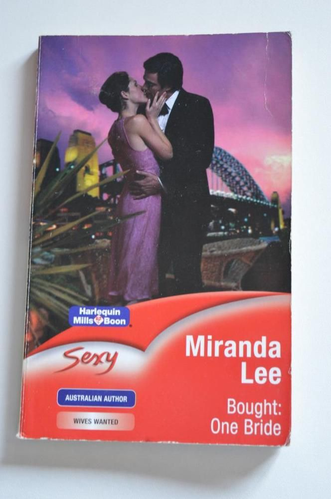 sexy, mills & boon p/back bought one bride. by miranda lee.2005