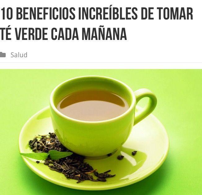 10 beneficios increíbles de tomar té verde cada mañana  Existe una muy buena razón por la cual las sociedades asiáticas han bebido té verde por cientos de años. ¡De hecho el historial arqueológico demuestra que la gente ha cortado las hojas del té verde por más de 5.000 años! En la actualidad, el té ocupa el segundo lugar después de agua en lo que respecta a las bebidas más populares en el mundo.  Como amantes de la vida verde tratamos de consumir productos de fuentes naturales, el té es…