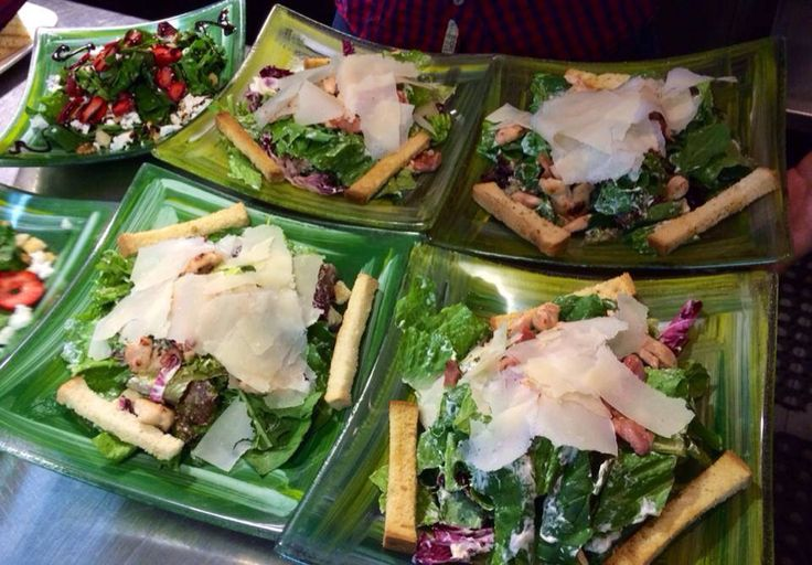 Salad's time!