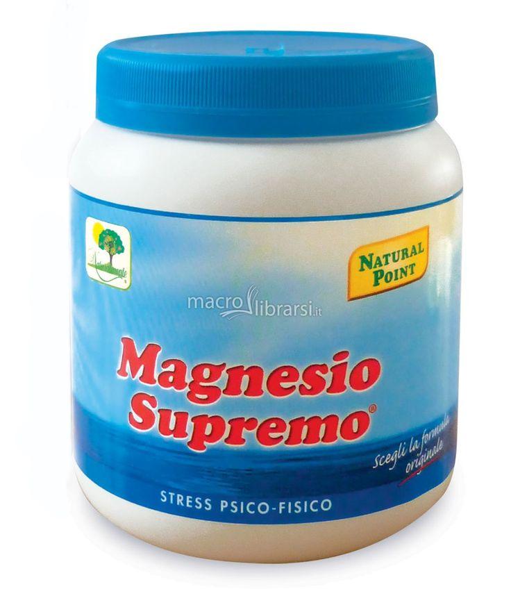 Magnesio supremo è un carbonato di magnesio in una formulazione citrata, cioè la soluzione di magnesio più assimilabile che esista, in quanto questa formula è quella assunta più velocemente dall'organismo.  La bevanda di magnesio è una conquista nel campo degli integratori perché produce effetti mai riscontrati prima, con altri integratori a base di magnesio.