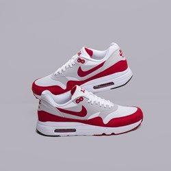 Купить женские белые, красные  кроссовки W Nike Air Max 1 Ultra 2.0 LE от Nike Sportswear (908489-101) по цене 9990 рублей в Sneakerhead