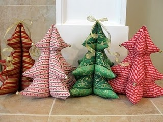 Stuffed Christmas trees