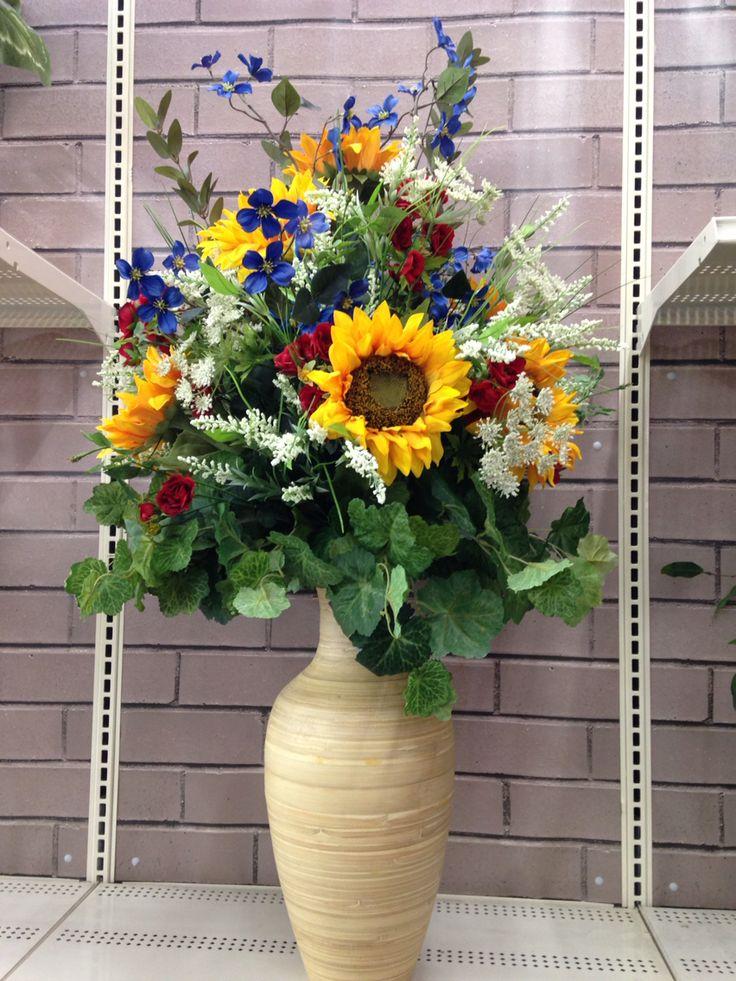 Best summer floral arrangements images on pinterest