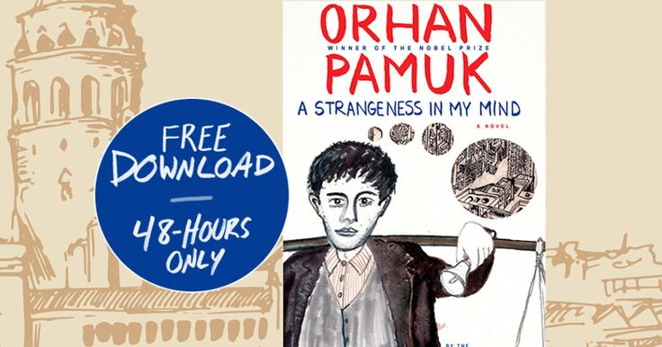 For a limited time Penguin Random House Books are offering you a free download of A Strangeness in My Mind by Orhan Pamuk.  That's a $24.95 value! Just enter your email in the box provided to sign up. http://ifreesamples.com/free-audiobook-download-strangeness-mind-orhan-pamuk/