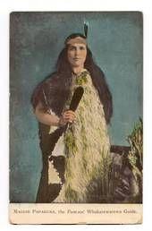 Coloured Postcard of Guide Maggie Papakura. - 69694 - Postcard - Postcards Maori - Postcards By Theme - EASTAMPS.COM