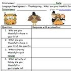 Just in Time for Thanksgiving!!  Interview Questions FREEBIE! - Pinned by @PediaStaff – Please Visit ht.ly/63sNtfor all our pediatric therapy pins