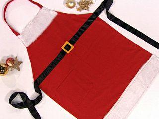 Avental de Natal                                                                                                                                                                                 Mais