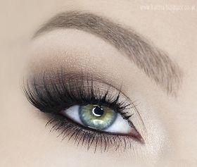 Katosu - Extra: • Rozświetlony, wydłużający oko klasyczny makijaż - KROK PO KROKU •