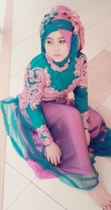 Dress Pink Tosca #hijab #graduation #party #style #natural