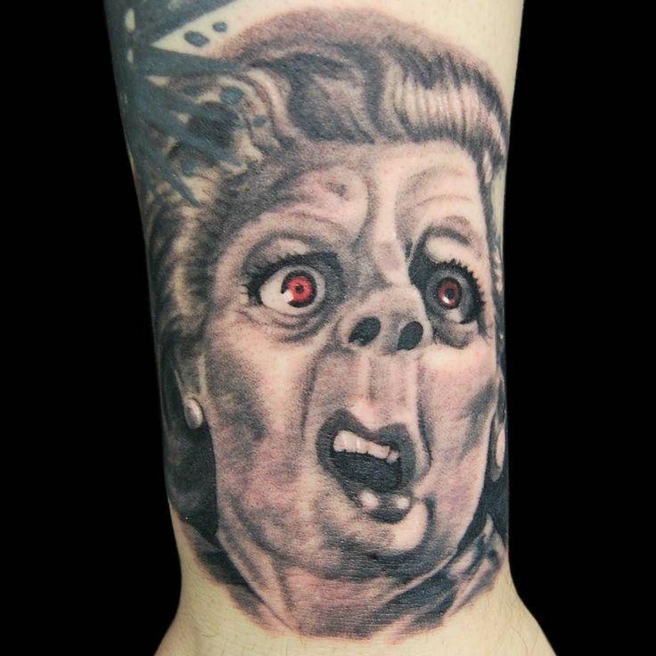 Meryl streep portrait!  #blackandgreytattoo @bluedragontattoobrighton  #brightontattoo #tattoos #ink #inked #art #design #uktta  #photooftheday #instatattoo #bodyart #amazingink #inkedup #tattoosnob #uktopartist