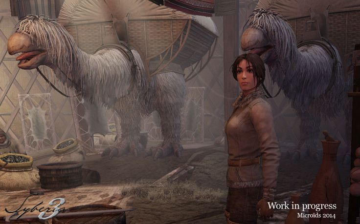 Syberia 3 Gamescom 2014 Work In progress Screenshot