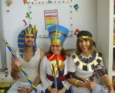 disfraz de faraon egipcio reciclado - Buscar con Google