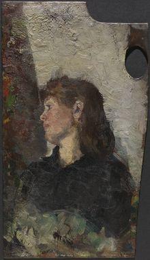 DigitaltMuseum - Malerinnen Oda Krohg