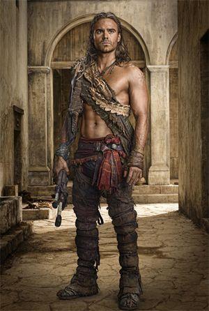 Dustin Clare aka Gannicus in Spartacus