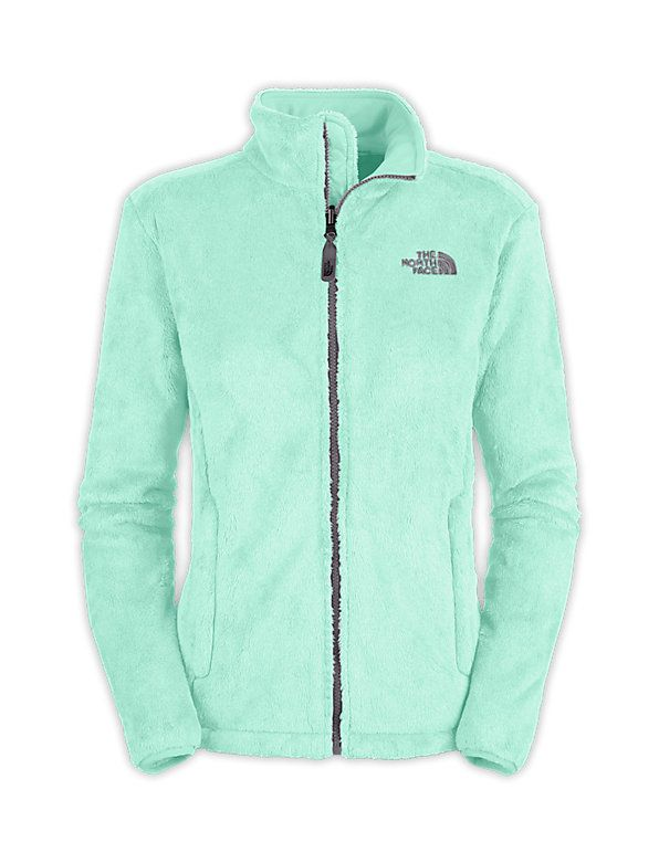 The North Face | Women's Osito Jacket | Beach Glass Green. I love this color!