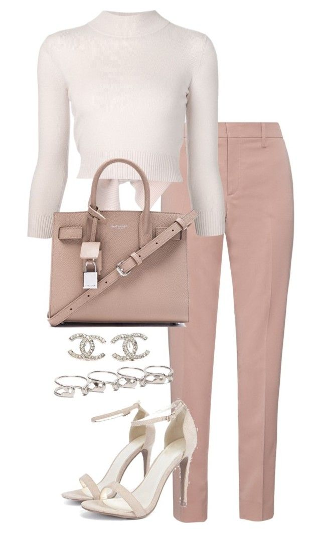 """""""Untitled #3116"""" by theeuropeancloset on Polyvore featuring Gucci, Alexander McQueen, Boohoo, Yves Saint Laurent, Chanel and Maison Margiela"""