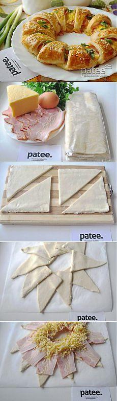 Torta sajttal és szalonnával :)