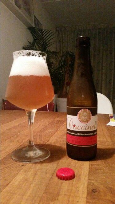 Coccinelle // 8/10 // Brouwerij Anders // Artisanaal bier van hoge goesting