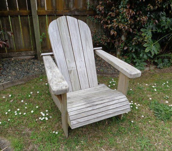 DIY Adirondack chair – woodworking plans