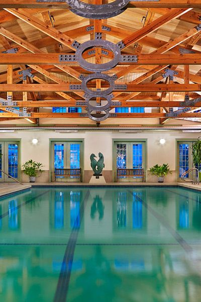Pool at the Spa. The Equinox, a Luxury Collection Golf Resort & Spa, Vermont.
