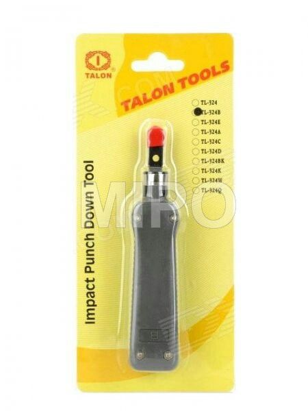 Punch Down Tool  For seating wire into terminal black or cutting off wire end after terminated Harga rp75.000 Info detail di : www.tokomipo.com