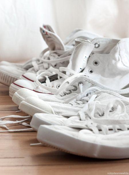 notquitesnowwhite.com - White shoes