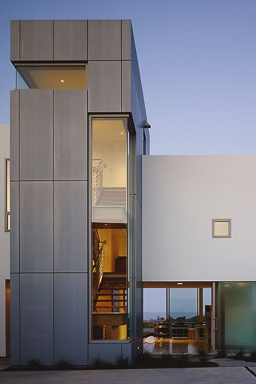 87 best metal cladding help for the first time home - Limposante residence contemporaine de ehrlich architects ...