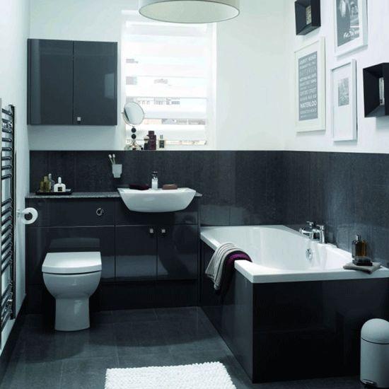 Think big on storage | Small bathrooms | 10 decorating ideas | Homes & Gardens | Housetohome.co.uk
