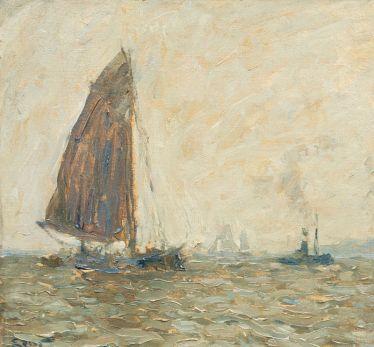 Segelschiffe und Schlepper. Henning Edens