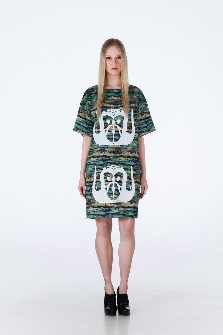 Lions T-Shirt Dress