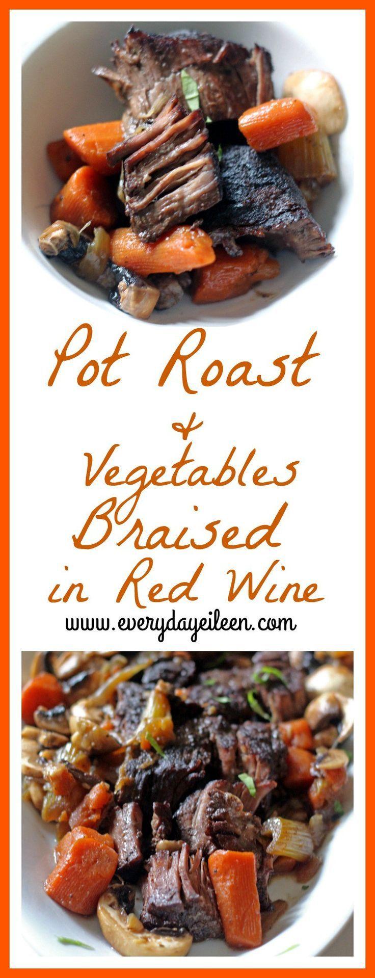 Chicken red wine gravy recipe