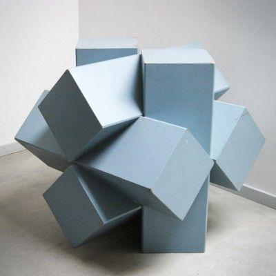 Kubische Constructie Art by Martin Simmers for Unknown Manufacturer