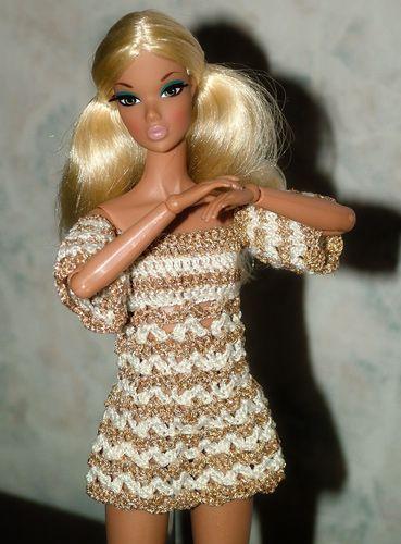 9 besten Barbiekleidung Bilder auf Pinterest | Näharbeiten, barbie ...