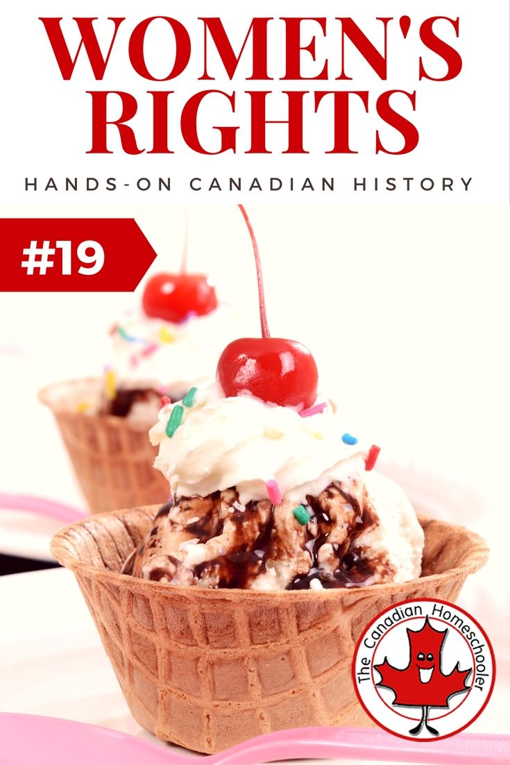 Hands-On Canadian History: Women's Rights to Vote. This activity is a simple way to help kids see that every vote matters and why everyone should be allowed to have a vote.