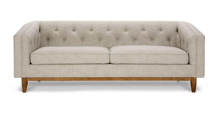 Alcott Rain Cloud Gray Sofa