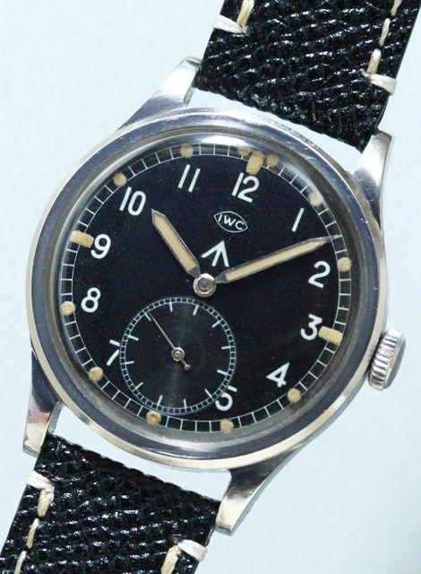 INTERNATIONAL (IWC) Mark X (Royal Army) Cal.83 1940'S #vintagewatch…