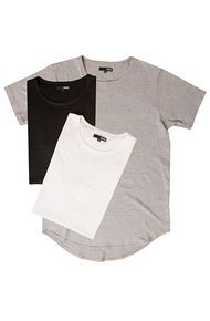 Elwood The Curved Hem Tall Tee 3 Pack