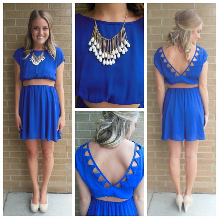 $39 Beautiful blue dress