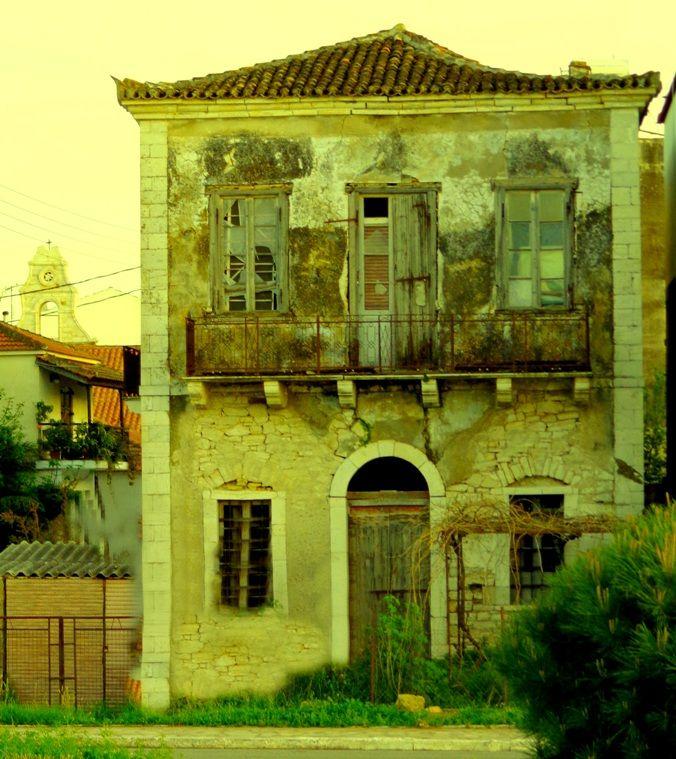 Old House - casa vecchia, vicino al mare Aitoliko - Greece