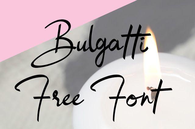 DLOLLEYS HELP: Bulgatti Free Font